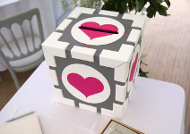 Companion Cube Wedding Postbox
